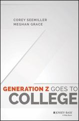 Generation Z Goes to College 1st Edition 9781119143529 1119143527
