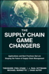 The Supply Chain Game Changers 1st Edition 9780134093789 013409378X