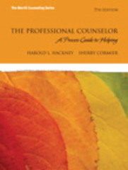 The Professional Counselor 7th Edition 9780134315348 0134315340