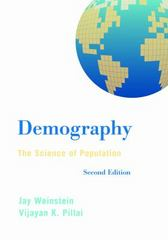 Demography 2nd Edition 9781442235205 1442235209
