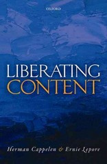 Liberating Content 1st Edition 9780191066313 0191066311
