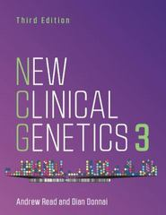 New Clinical Genetics, third edition 3rd Edition 9781907904677 1907904670