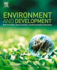 Environment and Development 1st Edition 9780444627438 044462743X