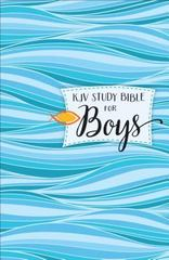 KJV Study Bible for Boys Hardcover 1st Edition 9780801018480 080101848X