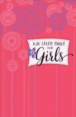 KJV Study Bible for Girls Hardcover 1st Edition 9780801018527 0801018528