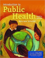 Introduction To Public Health 4th Edition 9781284107654 1284107655