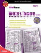 Webster's Thesaurus, Grades 4 - 8 2nd edition 9780769643441 0769643442