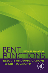 Bent Functions 1st Edition 9780128025550 0128025557