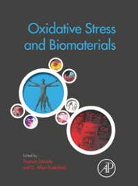 Oxidative Stress and Biomaterials 1st Edition 9780128032701 0128032707