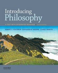 Introducing Philosophy 11th Edition 9780190209452 0190209453
