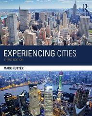 Experiencing Cities 3rd Edition 9781138851610 1138851612