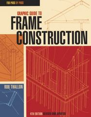 Graphic Guide to Frame Construction 4th Edition 9781631863721 163186372X