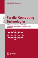 Parallel Computing Technologies 1st Edition 9783319219080 3319219081
