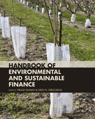 Handbook of Environmental and Sustainable Finance 1st Edition 9780128036464 012803646X
