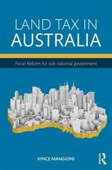 Land Tax in Australia 1st Edition 9781138831254 1138831255