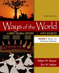 Ways of the World, Volume 2 3rd Edition 9781319018559 1319018556