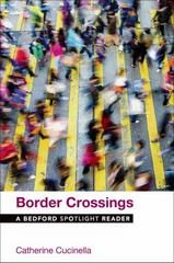 Border Crossings 1st Edition 9781319020149 1319020143