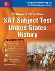 McGraw-Hill Education SAT Subject Test US History 4th Ed 4th Edition 9781259584107 1259584100
