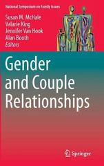 Gender and Couple Relationships 1st Edition 9783319216355 331921635X