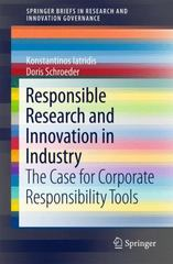 Responsible Research and Innovation in Industry 1st Edition 9783319216928 3319216929