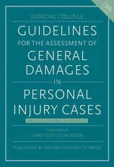 Guidelines for the Assessment of General Damages in Personal Injury Cases 13th Edition 9780198757627 019875762X