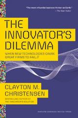 The Innovator's Dilemma 1st Edition 9781633691780 1633691780