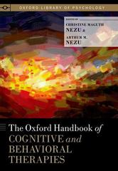 The Oxford Handbook of Cognitive and Behavioral Therapies 1st Edition 9780199733255 0199733252