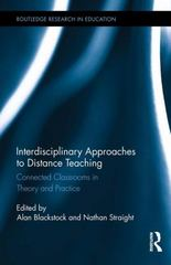 Interdisciplinary Approaches to Distance Teaching 1st Edition 9781138908444 1138908444