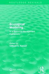 Ecological Modeling 1st Edition 9781138100923 1138100927