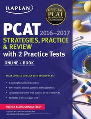 Kaplan PCAT 2016-2017 Strategies, Practice, and Review with 2 Practice Tests 1st Edition 9781506200903 1506200907