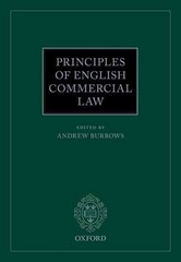 Principles of English Commercial Law 1st Edition 9780198746225 0198746229