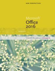 New Perspectives Microsoft Office 365 & Office 2016 1st Edition 9781305879171 1305879171