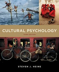 Cultural Psychology 3rd Edition 9780393289145 0393289141
