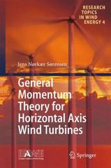General Momentum Theory for Horizontal Axis Wind Turbines 1st Edition 9783319221144 3319221140