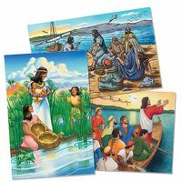 Vacation Bible School (VBS) 2016 Surf Shack Bible Story Poster Set 1st Edition 9781501811517 1501811517