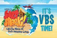 Vacation Bible School (VBS) 2016 Surf Shack Invitation Postcards (Pkg Of 25) 1st Edition 9781501811647 1501811649