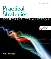 Practical Strategies for Technical Communication 2nd Edition 9781319018214 1319018211