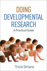 Doing Developmental Research 1st Edition 9781462524426 1462524427