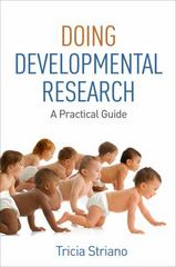Doing Developmental Research 1st Edition 9781462524433 1462524435