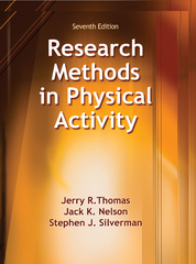 Research Methods in Physical Activity 7th Edition 9781492512912 1492512915