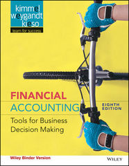Financial Accounting 8th Edition 9781118953808 1118953800