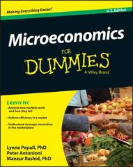 Microeconomics For Dummies 1st Edition 9781119184393 1119184398