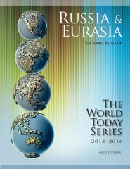 Russia and Eurasia 2015-2016 46th Edition 9781475818765 1475818769