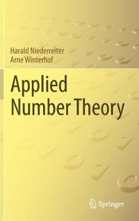 Applied Number Theory 1st Edition 9783319223209 3319223208
