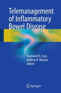 Telemanagement of Inflammatory Bowel Disease 1st Edition 9783319222851 3319222856