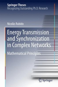 Energy Transmission and Synchronization in Complex Networks 1st Edition 9783319222158 3319222155