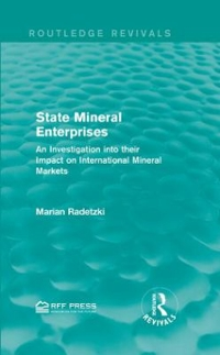 State Mineral Enterprises 1st Edition 9781138120006 1138120006