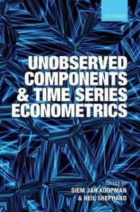 Unobserved Components and Time Series Econometrics 1st Edition 9780191506574 0191506575