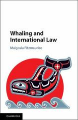 Whaling and International Law 1st Edition 9781107021099 110702109X