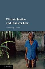 Climate Justice and Disaster Law 1st Edition 9781107107229 1107107229